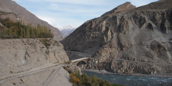Road to upper Hunza